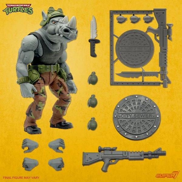*PRE-SALE* TMNT Ultimates Wave 3 Rocksteady Action Figure