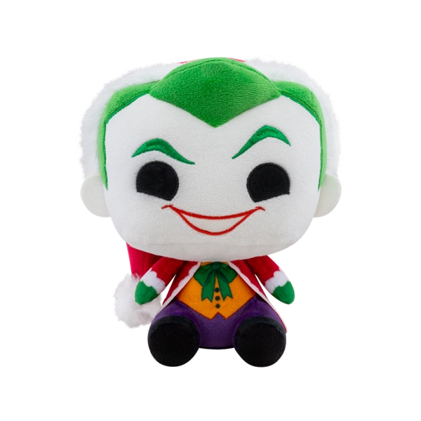 POP! Plush: DC Holiday- Joker as Santa