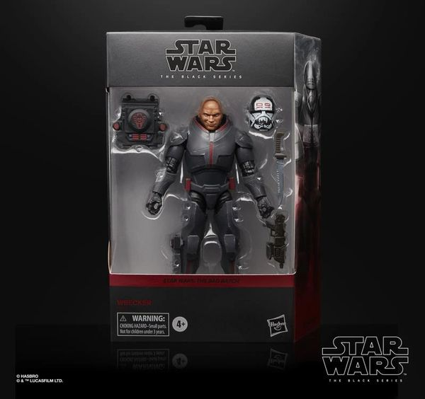 "*PRE-SALE* Star Wars: The Black Series 6"" Deluxe Wrecker (The Bad Batch) Action Figure"