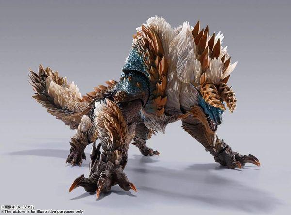 *PRE-SALE* Monster Hunter World Iceborne S.H.MonsterArts Zinogre Action Figure