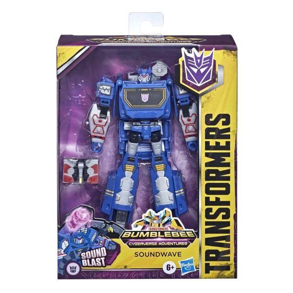 Transformers: Bumblebee Cyberverse Adventures Deluxe Soundwave Action Figure