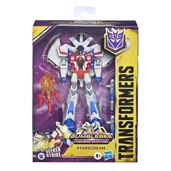 Transformers: Bumblebee Cyberverse Adventures Deluxe Starscream Action Figure