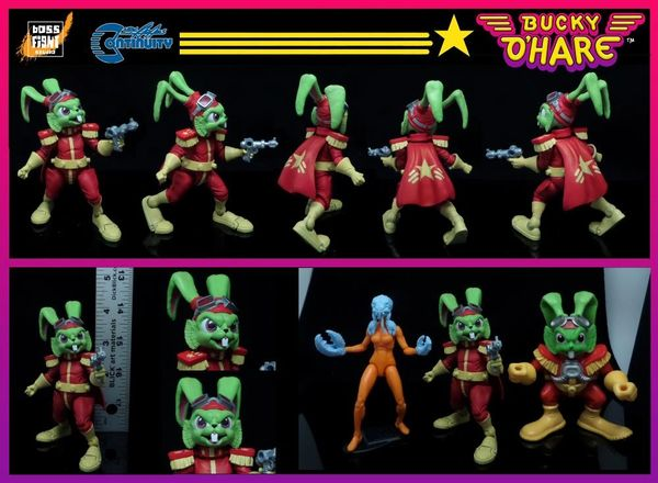 Bucky O'Hare Captain Bucky O'Hare Action Figure