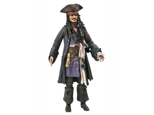 Pirates of the Caribbean Jack Sparrow Deluxe Action Figure