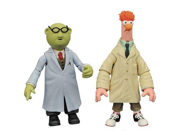 The Muppets Select Bunsen Honeydew & Beaker Action Figure Set