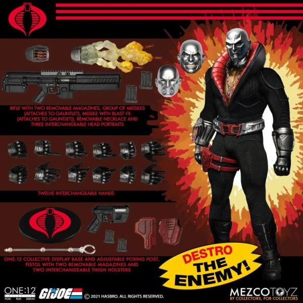 *PRE-SALE* G.I. Joe One:12 Collective Destro Action Figure