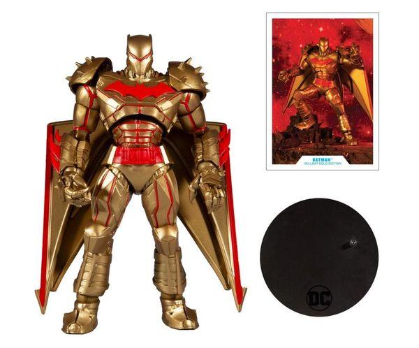 *PRE-SALE* DC Multiverse Batman (Hellbat Suit Gold Version) Action Figure