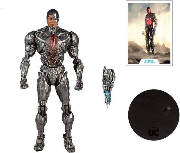 *PRE-SALE* DC Multiverse Justice League (2021) Cyborg Action Figure