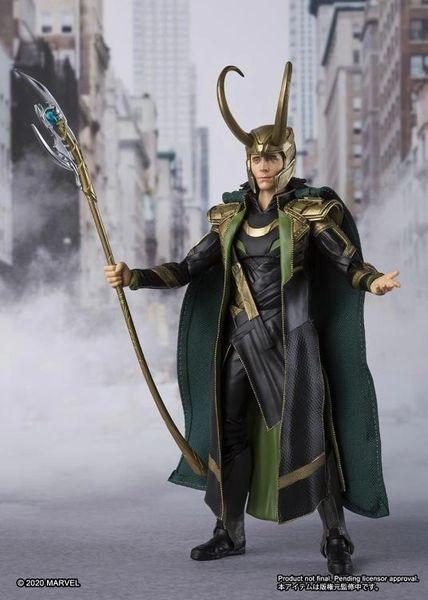 The Avengers S.H.Figuarts Loki Action Figure