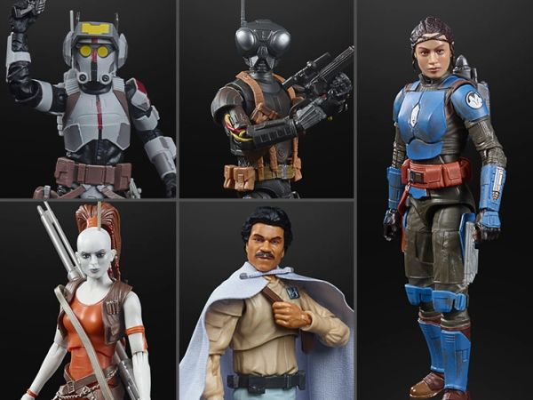 "*PRE-SALE* Star Wars: The Black Series 6"" Wave 40 Set of 5 Action Figures"