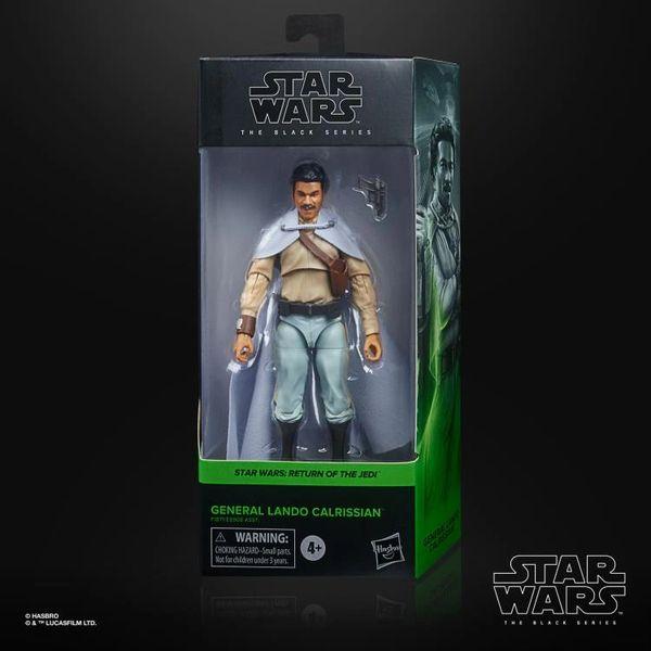 "*PRE-SALE* Star Wars: The Black Series 6"" General Lando Calrissian (Return of the Jedi) Action Figure"