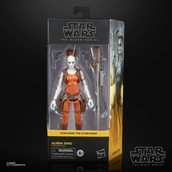 "*PRE-SALE* Star Wars: The Black Series 6"" Aurra Sing (Clone Wars) Action Figure"