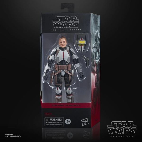 "*PRE-SALE* Star Wars: The Black Series 6"" Tech (Clone Wars) Action Figure"