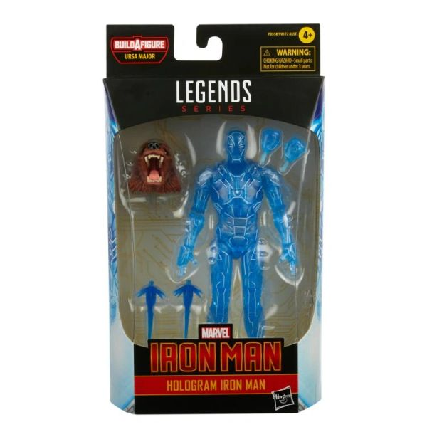 *PRE-SALE* Marvel Legends Hologram Iron Man Action Figure (Ursa Major BAF)