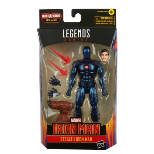*PRE-SALE* Marvel Legends Stealth Iron Man Action Figure (Ursa Major BAF)