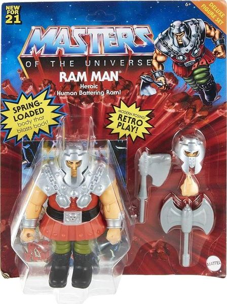 Masters of the Universe Origins Ram-Man Action Figure