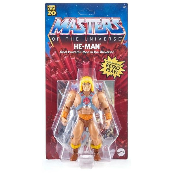 *PRE-SALE* Masters of the Universe Origins He-Man Action Figure