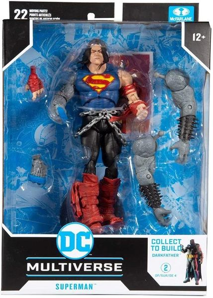 *PRE-SALE* DC Multiverse Dark Nights: Death Metal Superman Action Figure (Dark Father Series)