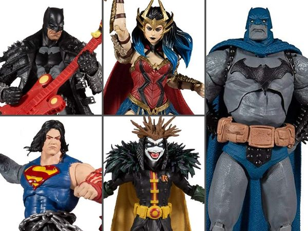 *PRE-SALE* DC Multiverse Dark Multiverse Wave 4 Set of 4 Action Figures (Dark Father Series)