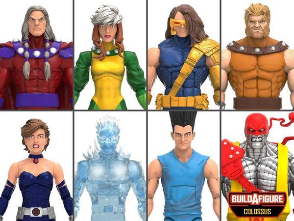 *PRE-SALE* Marvel Legends X-Men Age of Apocalypse Wave Set of 7 Figures (Colossus BAF)