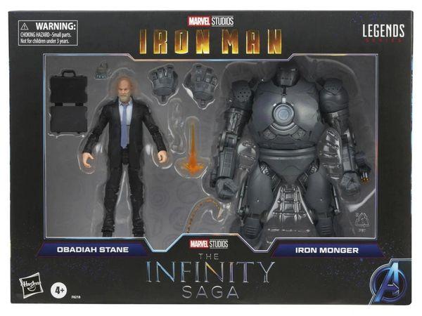 *PRE-SALE* Marvel Legends The Infinity Saga Iron Man Obadiah Stane & Iron Monger Action Figure 2-Pack