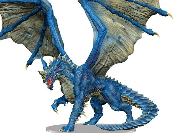 Dungeons & Dragons Icons of the Realms Adult Blue Dragon Premium Painted Figure