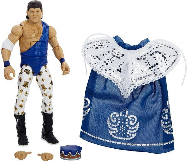 """WWE Elite Collection Series 82 Jerry """"The King"""" Lawler Action Figure"""