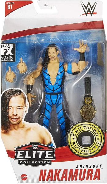 WWE Elite Collection Series 81 Shinsuke Nakamura Action Figure