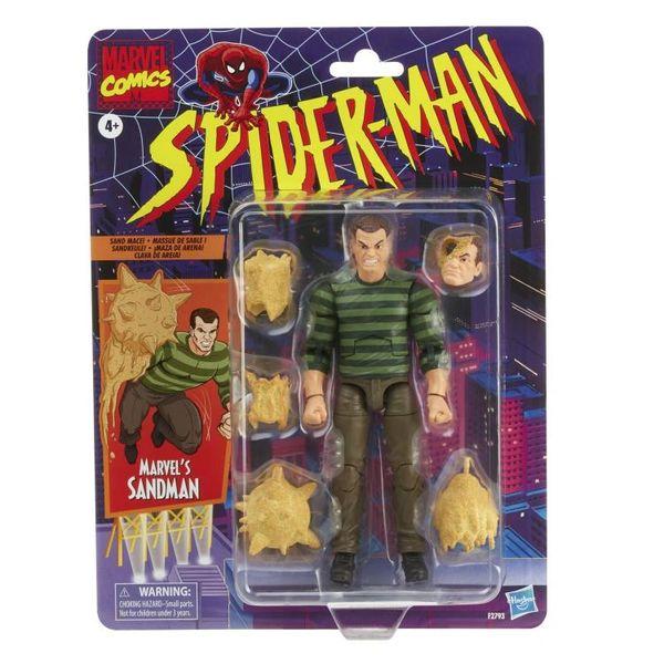 *PRE-SALE* Marvel Legends Spider-Man Retro Collection Sandman Action Figure
