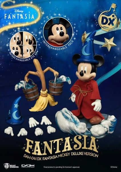 *PRE-SALE* Fantasia Dynamic 8ction Heroes DAH-041DX Sorcerer Mickey (Deluxe Ver.)