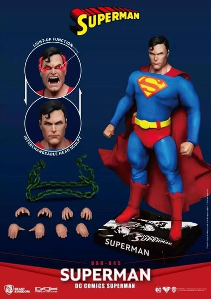 *PRE-SALE* DC Comics Dynamic 8ction Heroes DAH-045 Superman Action Figure