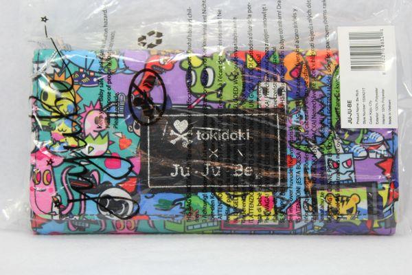 Ju-Ju-Be x Tokidoki Be Rich Wallet in Kaiju City PLACEMENT B