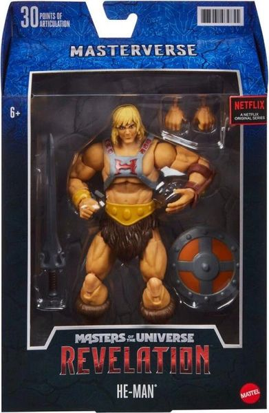 Masters of the Universe: Revelation He-Man Action Figure