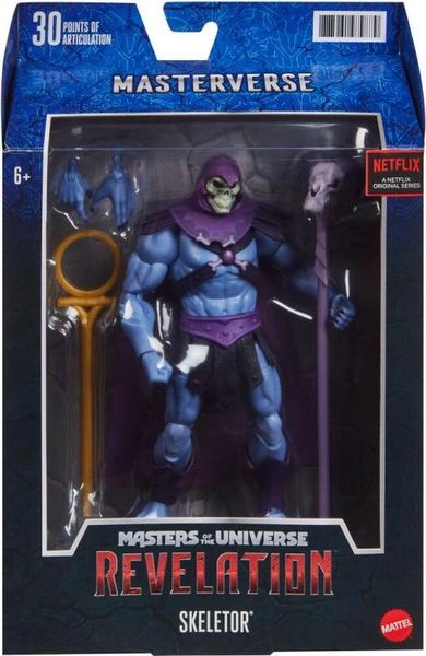 Masters of the Universe: Revelation Skeletor Action Figure