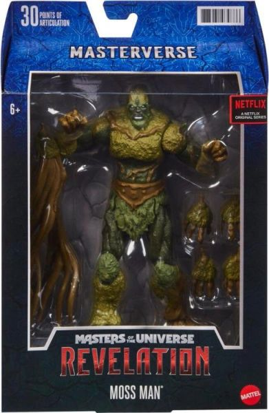 Masters of the Universe: Revelation Moss Man Action Figure