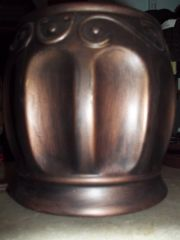 Victorian candle warmer
