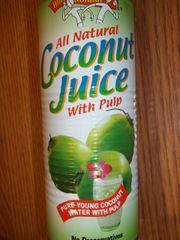 Amy/Brians coconut juice w/pulp 17.5 fl oz