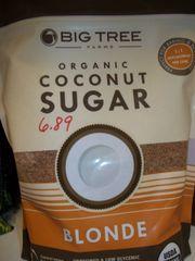 Big Tree organic Coconut sugar Blonde 16 oz