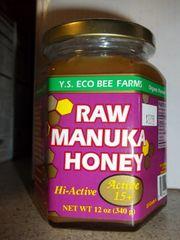 Y.S. Eco Bee Farms Raw Manuka Honey active 15+