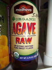 Madhava Organic Agave Raw 11.75 oz