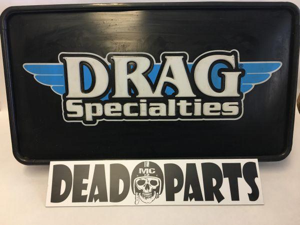 Drag Specialties Lighted Sign Bar Man Cave Garage