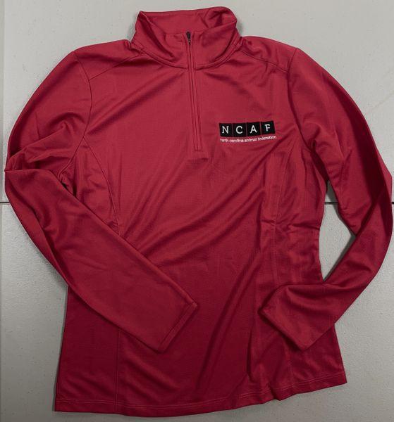 NCAF Women's 1/2 Zip Pullover