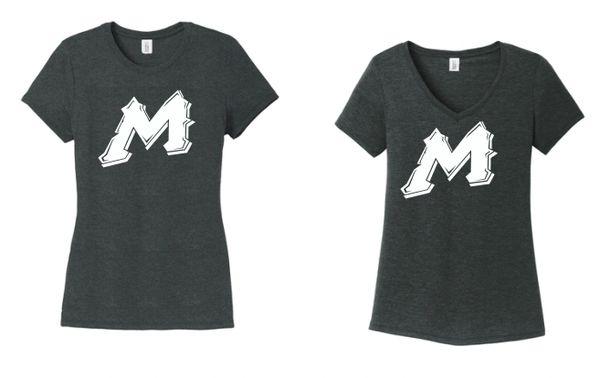"Mtn West Ladies ""M"" Soft Cotton Spirit Tees"