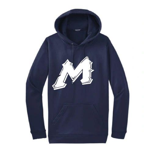 "Mtn West ""M"" Moisture Management Hoodies"