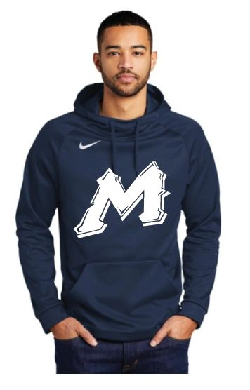 "Mtn West ""M"" Moisture Management NIKE Hoodies"