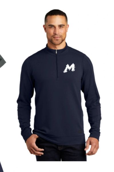 "Mtn West ""M"" OGIO 1/2 Zip with Embroidered Logo"