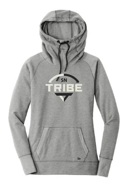 Tribe GLITTER New Era Pull Over Ladies Hoodies