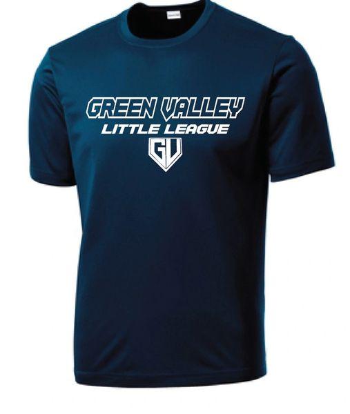 GVLL TeeBall Mariners Moisture Management Shirt