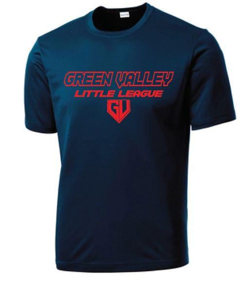 GVLL Rookie Braves Moisture Management Shirt