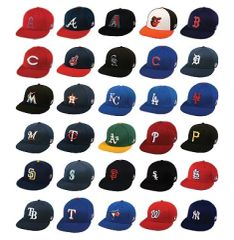 MLB FlexFit Replica Caps